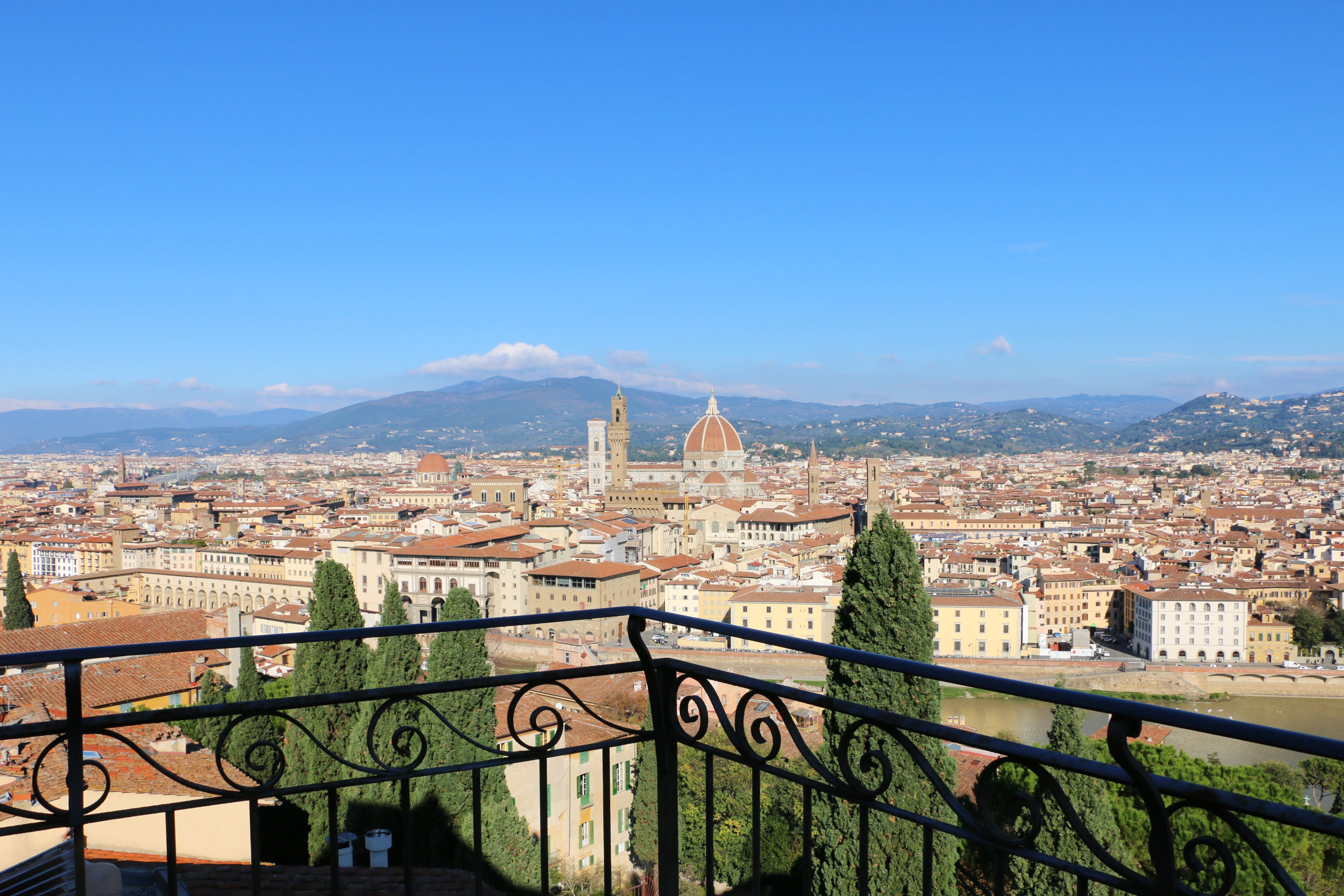 Visit the Bardini Gardens in Florence for its Flowers & Views