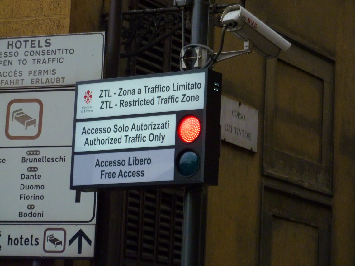 Road Traffic Offence In Italy Rick Steves Travel Forum