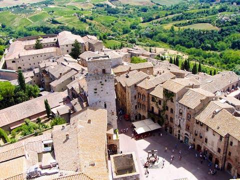 San Gimignano Tuscany,San Gimignano near Siena & Florence