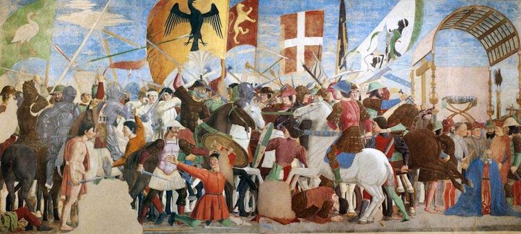 The Legend of the True Cross in Arezzo by Piero della Francesca