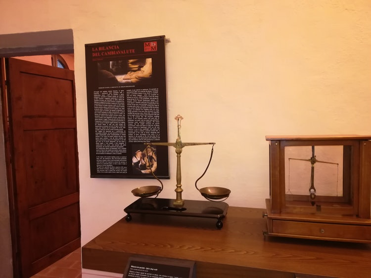 The Museum of the weighing scales in Monterchi, Arezzo