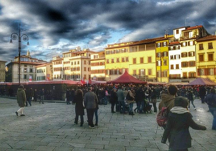 photo credit Mercato di Natale Firenze