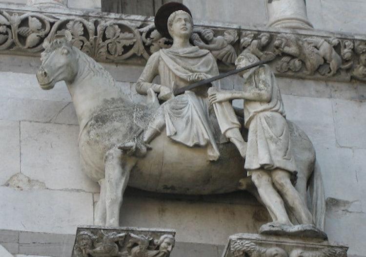 Lucca Il Duomo In Piazza San Martino