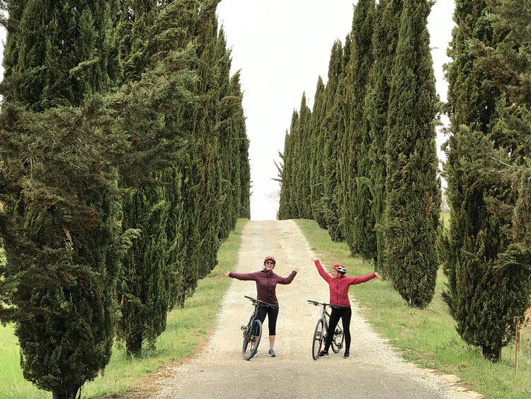 Biking in Florence with Elena & Piero