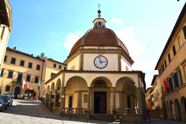 Oratory in Poppi in the Casentino Valley