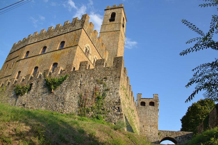 Conti Guidi Castello in Poppi in the Casentino Valley