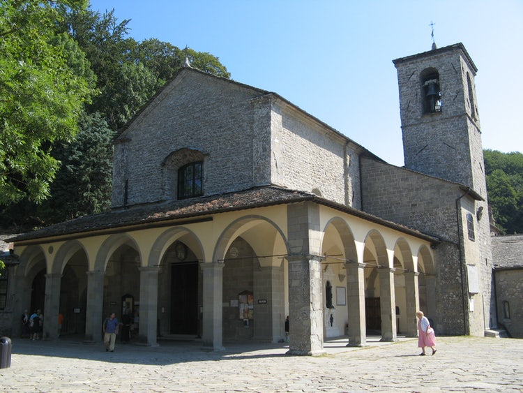 La chiesa del Santuario di La Verna