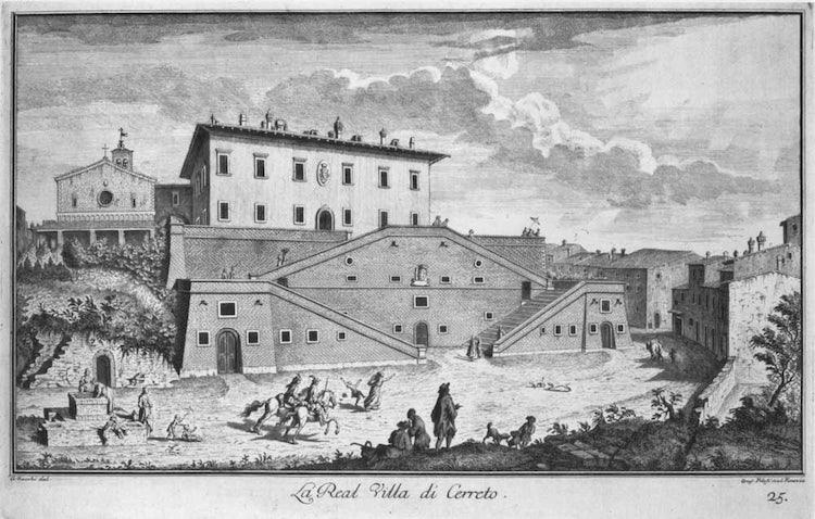 What is there to see in Villa Medici in Cerreto Guidi