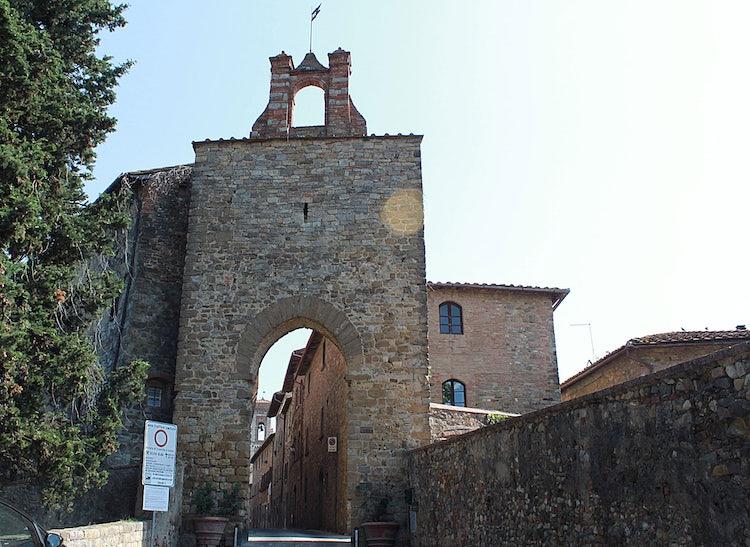 Porta Sienese at Barberino val d'Elsa