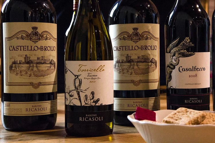 Organized wine tour with Castello di Brolio