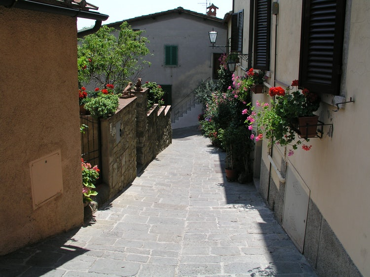 Chianti is a close and panoramic day trip from Siena