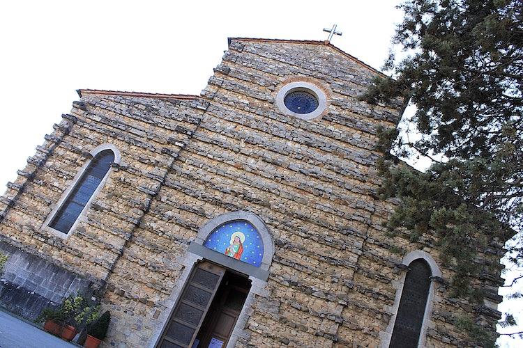 Church in Gaiole in Chianti