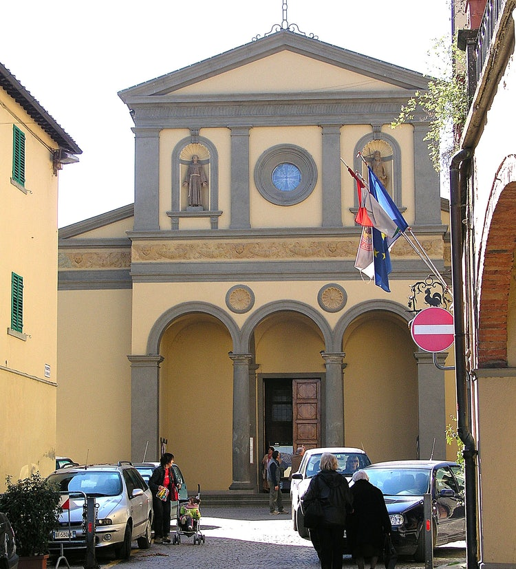 Church in Greve in Chianti