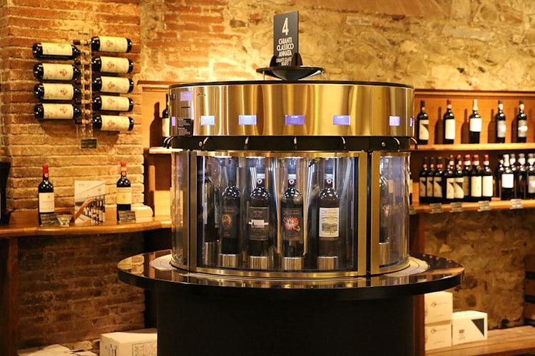 Wine tasting in Greve in Chianti