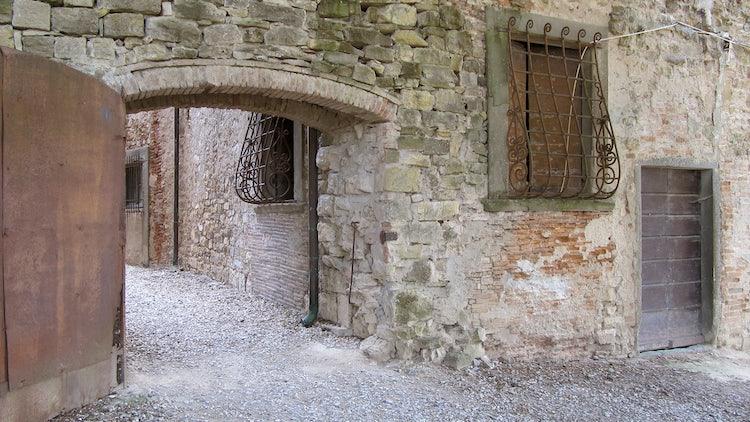 Old town door at Panzano