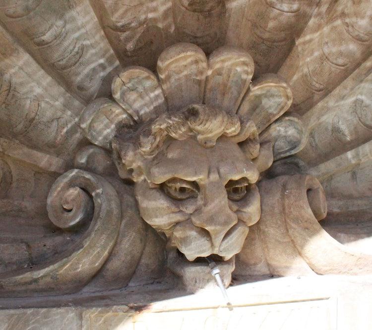 Church detail in Radda in Chianti
