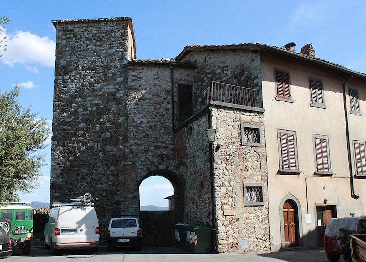 Porta Fiorentina in Radda in Chianti
