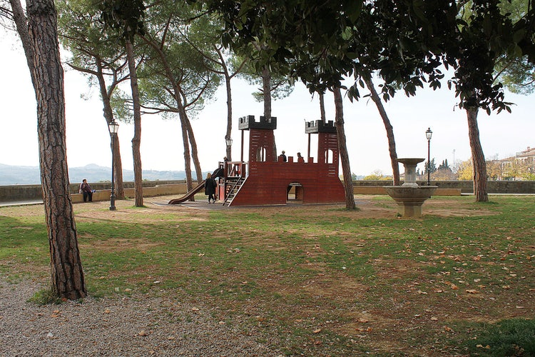 Playgrounds for the kids at San Casciano