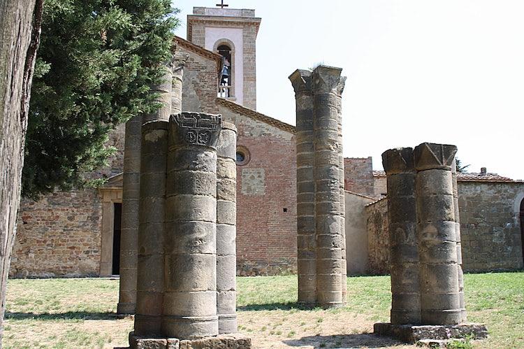 Facade Sant'Appiano near Barberino val d'Elsa