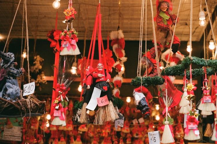 Befana Dolls in Tuscany for Christmas