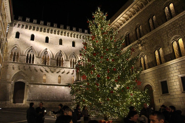 Siena in Tuscany for Christmas