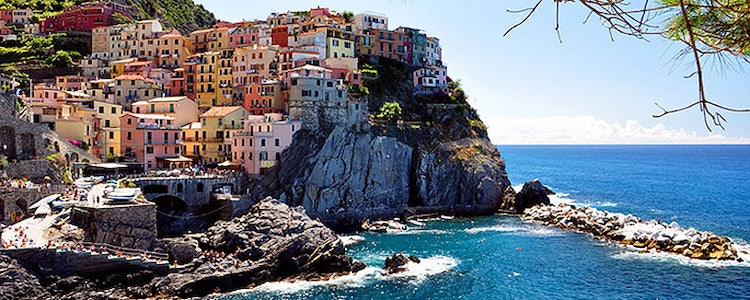 The Beauty of Cinque Terre, close to Lucca Tuscany