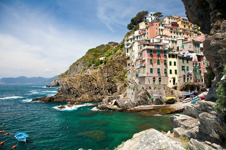 Coastal towns and Cinque Terre in Lunigiana