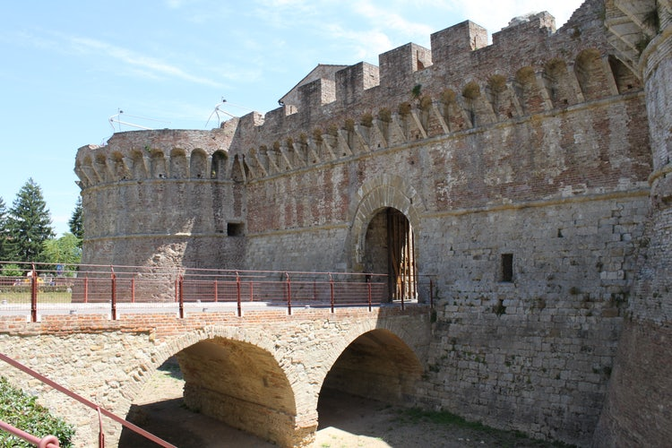 Driving day trips from San Gimignano:  Colle val d'Elsa