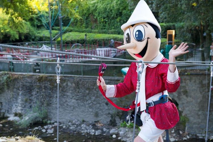 Pinocchio park near collodi in Pistoia