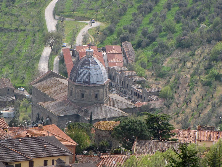 Cortona: Santa Maria delle Grazie