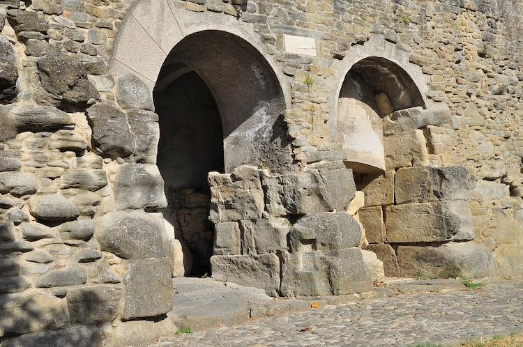 Porta Bifora:  Etruscan gate in the city walls