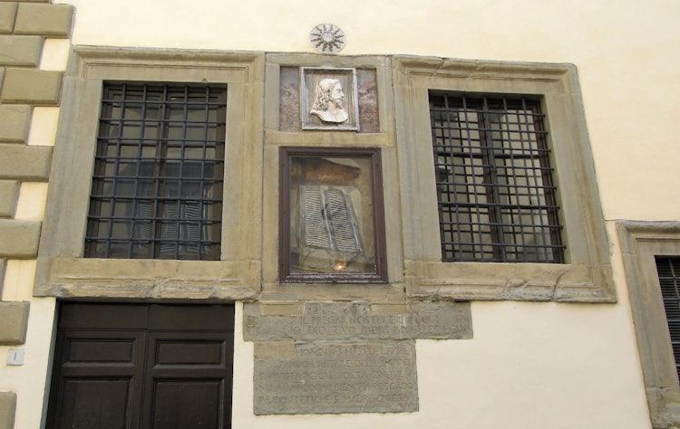 Facade of Church Santi Apostoli