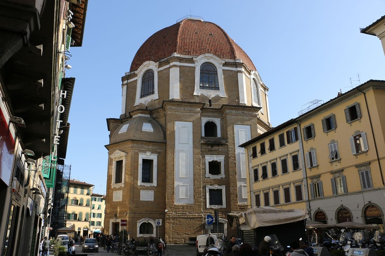 Chapel of thr Prines at the Medici Chapels in San Lorenzo Church in Florence