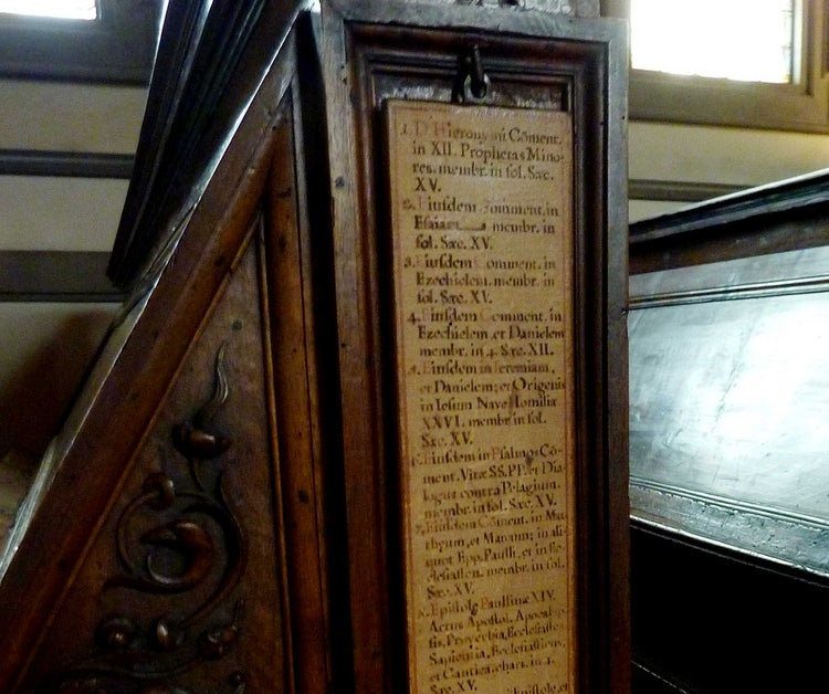 San Lorenzo Church Florence Italy: Medicea Laurenziana Library
