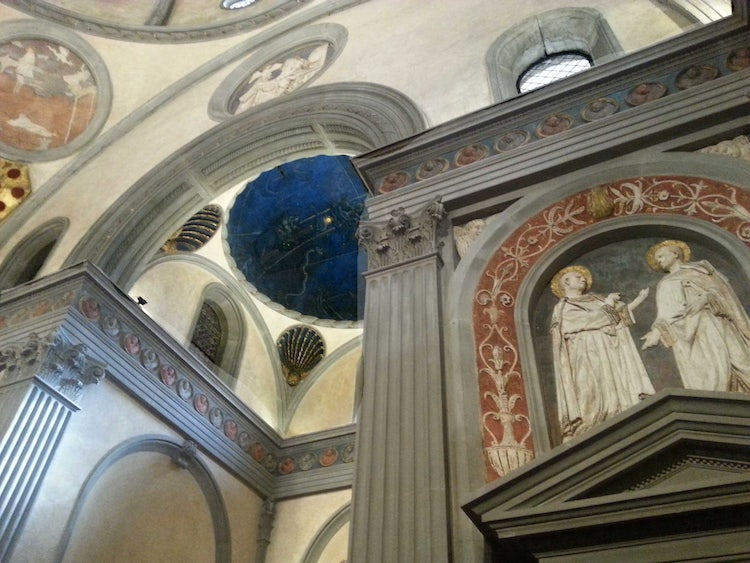 San Lorenzo Church, Florence, Italy: The Old Sacristy