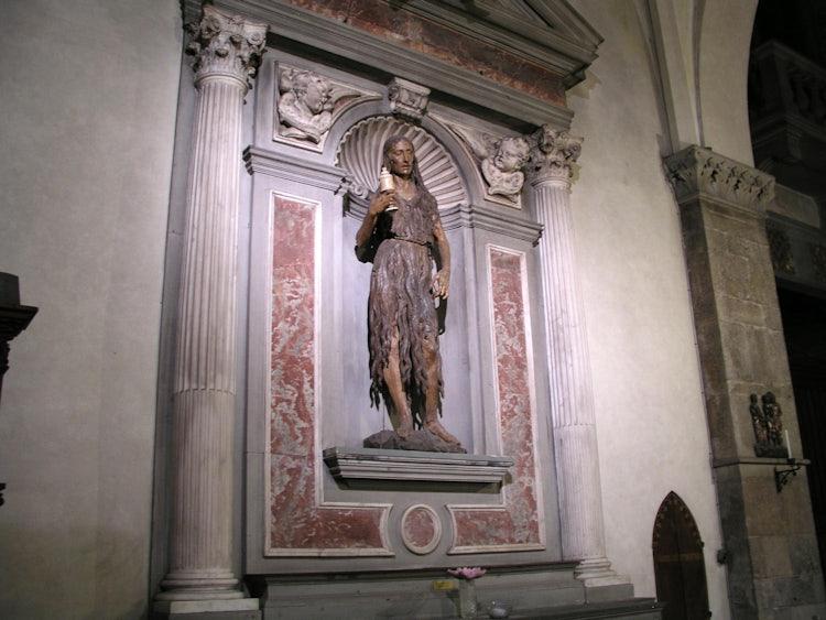 Magdalene by Desiderio da Settignano in Santa Trinita