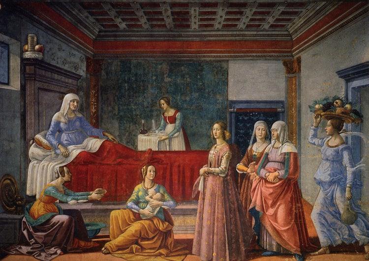 Santa Maria Novella in Florence:  Birth of St. John