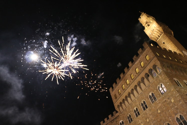 Happy New Year in Florence City Center