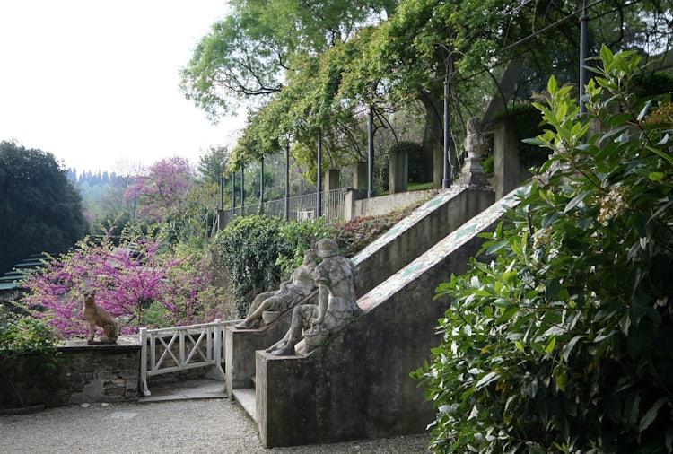 Bardini Gardens - Shaded paths