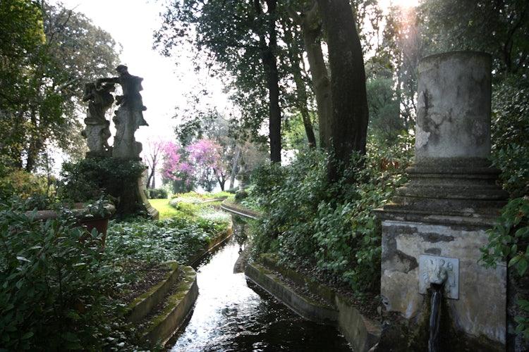 Bardini Gardens - Dragon Canal