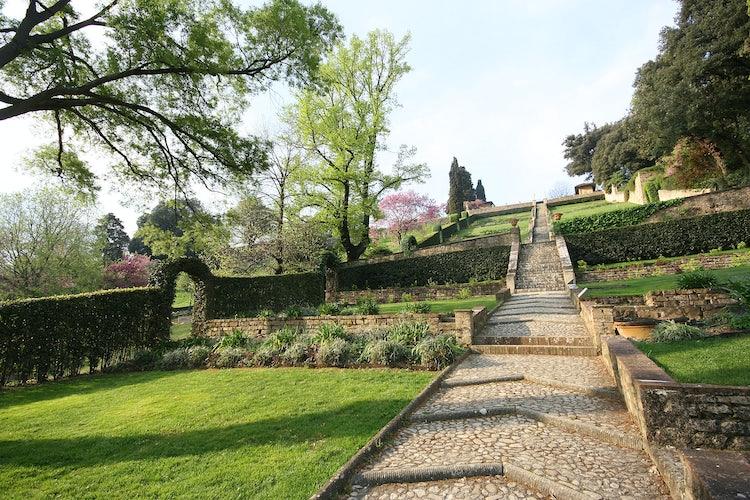 Bardini Gardens - Baroque stairs
