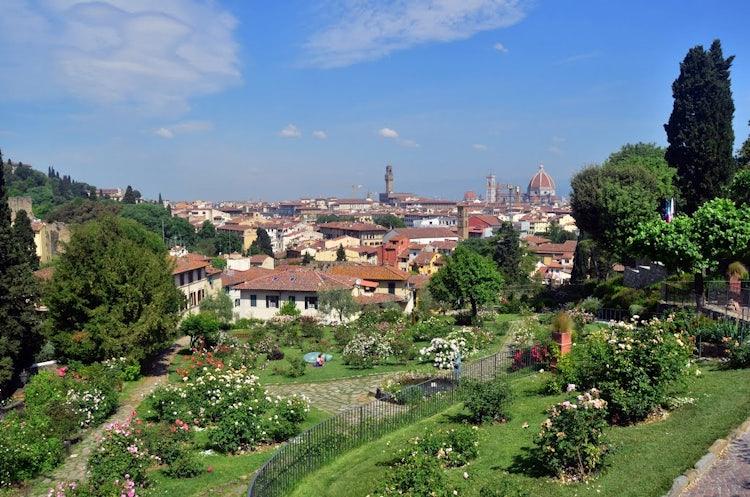 Rose Garden: an outdoor visit while exploring Florence