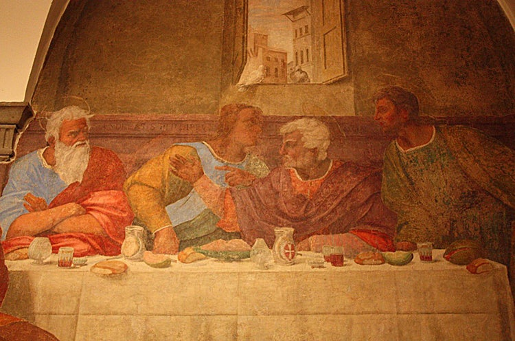 An Itinerary of Last Supper paintings for the Easter holidays