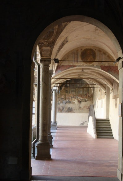 Enter into Ognissanti to see the Last Supper