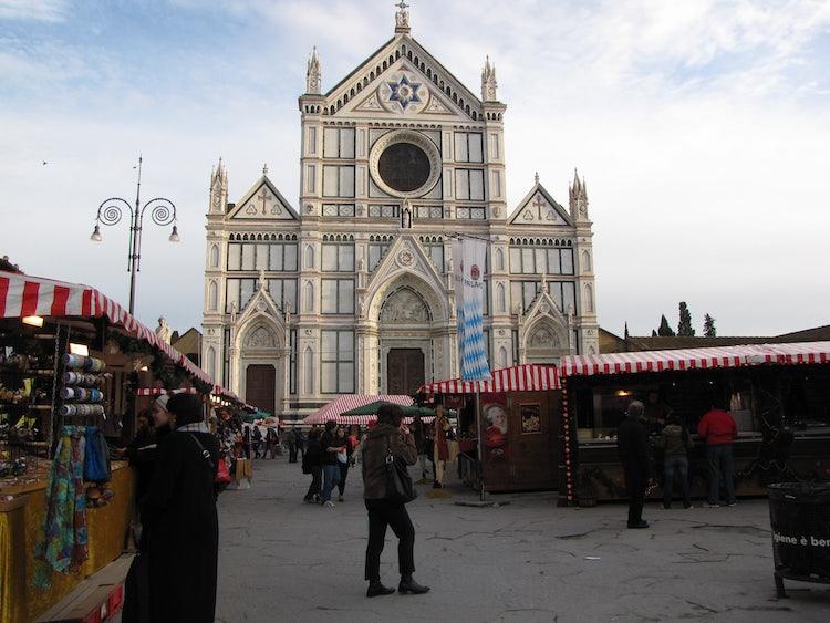 mercatino di Natale in Santa Croce