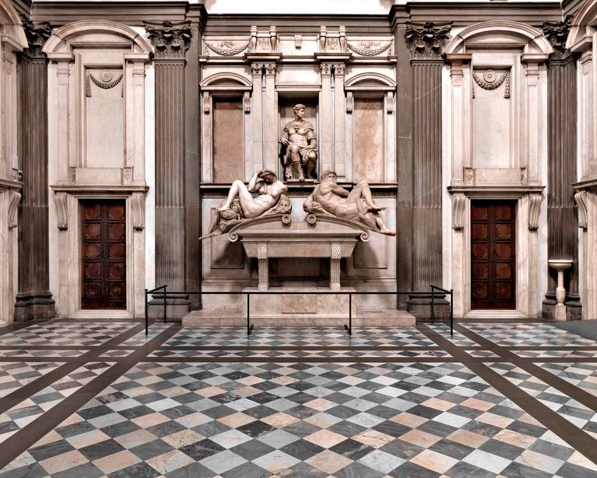Medici Chapels in Florence, Italy: Cappelle Medicee in San Lorenzo Church