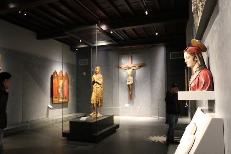 Donatello on display at the Opera del Duomo Museum in Florence