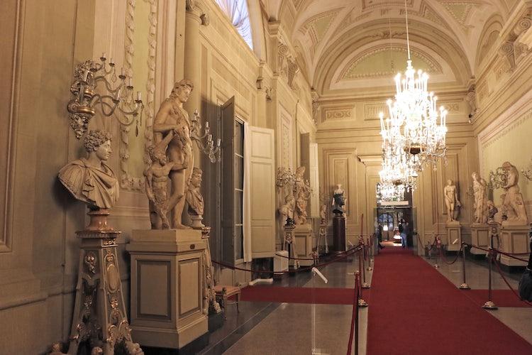 The Palatine Gallery at Palazzo Pitti