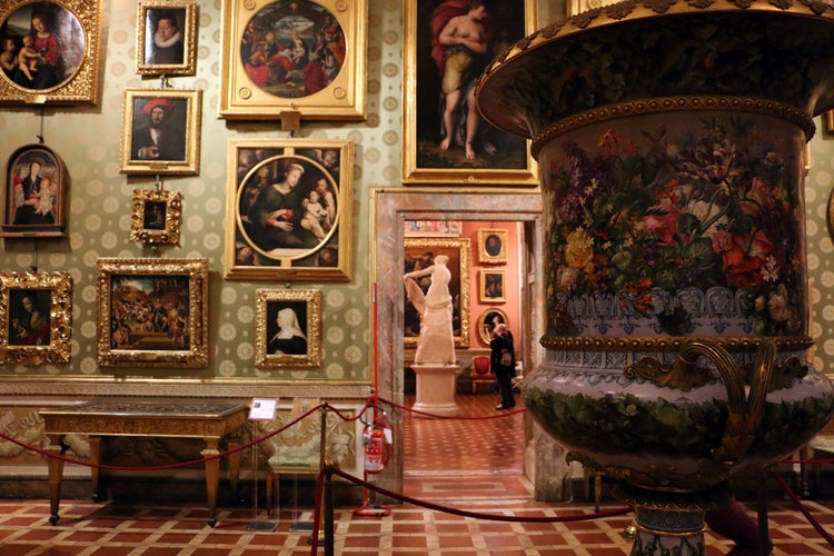 Prometheus Room at the Palatine Gallery in Palazzo Pitti