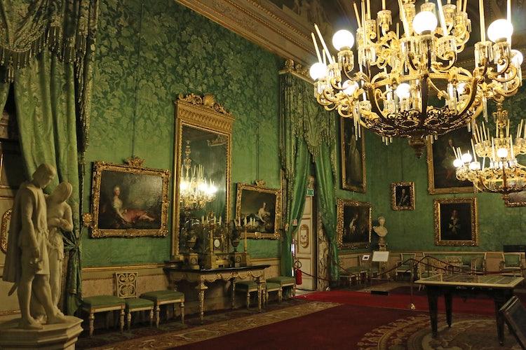 Royal Apartments at Palatine Gallery in Palazzo Pitti